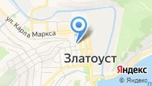 Земельная кадастровая палата по Челябинской области на карте
