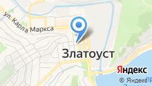 Автомойка на ул. Ковшова на карте