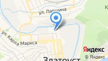 БУЛАТ на карте