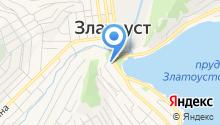 Златоустовский индустриальный колледж им. П.П. Аносова на карте