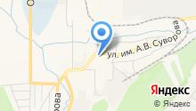 Златоустовское дорожное управление на карте