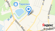 Банкомат, Уральский банк Сбербанка России на карте