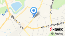 Городское квартирное бюро на карте