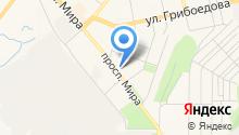 Военный комиссариат г. Златоуста на карте
