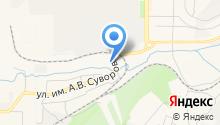 АГЗС на Суворова на карте