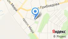 Водоснабжение Златоустовского Городского Округа на карте