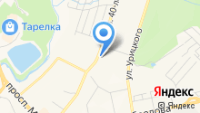 Екатерина на карте