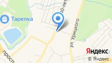 Магазин семян на ул. 40 лет Победы на карте