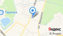 Автомагазин запчастей для автомобилей ГАЗ и УАЗ на карте