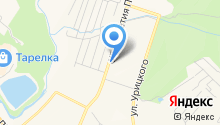 Компания грузоперевозок на карте