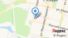 Свердловский областной медицинский колледж на карте