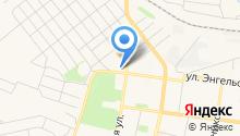 Диваныч на карте