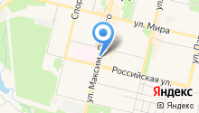 Кабанчик на карте