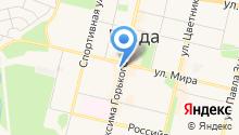 Сион на карте