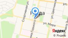 Медовая горница на карте