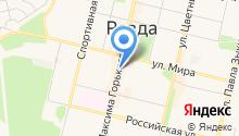 Архив городского округа Ревда на карте