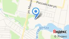 Демидовский на карте