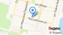 Кировский на карте