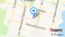 7 квадратных метров на карте