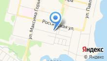АЗС Газпромнефть-Урал на карте