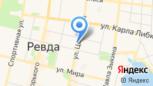 Детская музыкальная школа г. Ревды на карте