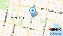 Милена на карте