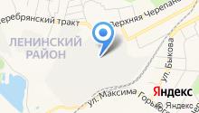 Адакс-НТ на карте