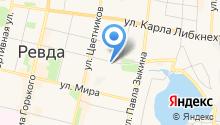 Бета К на карте