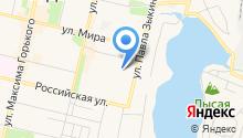 Детская библиотека им. П.П. Бажова на карте