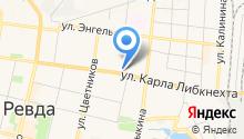 Ревдинская стоматологическая поликлиника на карте