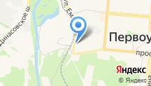 Средуралсинтез на карте
