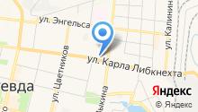 Студия красоты Ульяны Горбуновой на карте