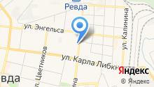 Мадлен на карте