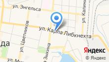 Кузя на карте