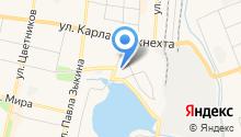 Тренажерный зал на ул. Чехова на карте