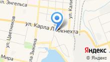 У Афони на карте