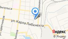 Карабашские Абразивы на карте