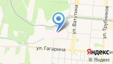 Первоуральская городская больница на карте