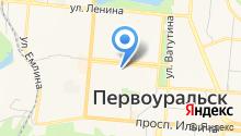 Главное управление МЧС России по Свердловской области на карте