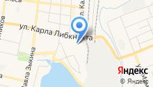 Водоканал на карте