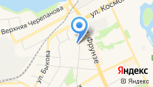 Аптека на Красном камне на карте