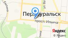 Верещагинский Трикотаж на карте