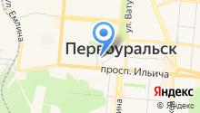Радио Милицейская волна Первоуральск на карте