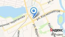 Театр Юного Зрителя им. П.П. Бажова на карте