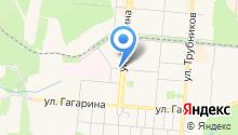Продуктовый магазин на ул. Ватутина на карте