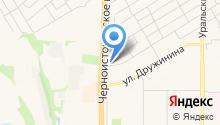 Аполлон на карте