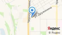 Антокс на карте
