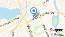Автом НТ на карте
