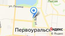 Первоуральский городской суд на карте