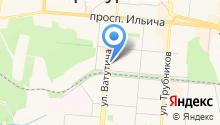 Главное управление ФСИН России по Свердловской области на карте